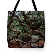 Angel Oak Tree Treasure Tote Bag