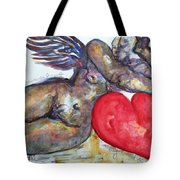 Angel Of Contentment Tote Bag