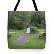 Angel Of Hope At The Putnam County Veteran Memorial Park Tote Bag