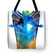 Angel Of Light - Spiritual Art Painting Tote Bag