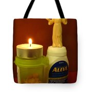 Angel Of Mercy Tote Bag
