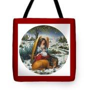 Angel Of Peace Tote Bag