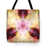 Angel Of The Healing Heart Tote Bag