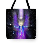 Angel Of The Violet Flame Tote Bag
