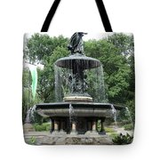 Angel Of The Waters Fountain Tote Bag