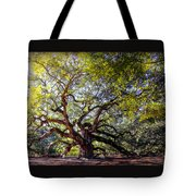Angel Of Time Tote Bag