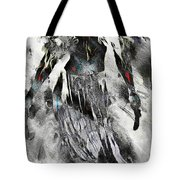 Angel Of Winter Tote Bag