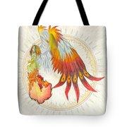 Angel Phoenix Tote Bag