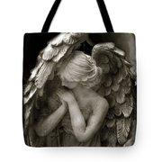 Angel Photography Spiritual Angel  - Guardian Angel In Prayer - Angel Praying  Tote Bag