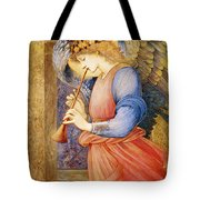 Angel Playing A Flageolet Tote Bag