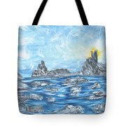 Angel Rock Tote Bag