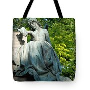 Angel Statue Tote Bag