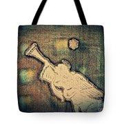 Angel Trumpeter Tote Bag