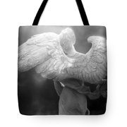 Angel Wings - Dreamy Surreal Angel Wings Black And White Fine Art Photography Tote Bag