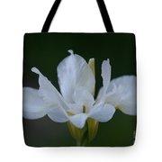 Angel Wings Iris Tote Bag