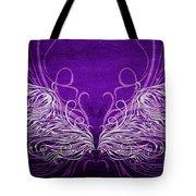 Angel Wings Royal Tote Bag