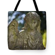 Angel With Broken Arm II Cave Hill Cemetery Louisville Kentucky  Tote Bag