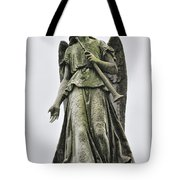 Angel With Trumpet Tote Bag