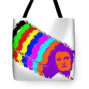 Angela Rainbow-2 Tote Bag