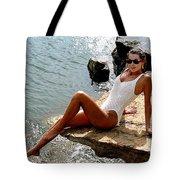 Angelawhiterock-b Tote Bag