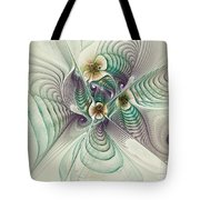 Angelic Entities Tote Bag by Deborah Benoit