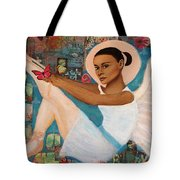 Angelique Earthangel From France Tote Bag