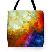 Angels Among Us - Emotive Spiritual Healing Art Tote Bag