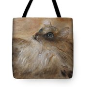 Watching A Butterfly Tote Bag
