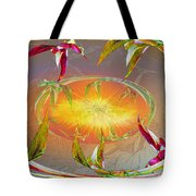 Angels Gather To The Love Of The Lord Tote Bag