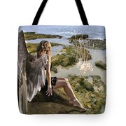 Angels- His Spirit Will Comfort You Tote Bag