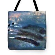 Angels Inna Clouds Tote Bag
