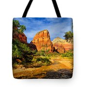 Angel's Landing Tote Bag by Greg Norrell
