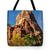 Angel's Landing In Fall - Zion National Park  Tote Bag
