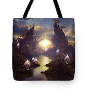 Angels Passage Tote Bag