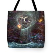 Angels Peril On The Sea Tote Bag