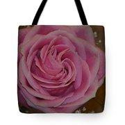 Angel's Pink Rose Tote Bag