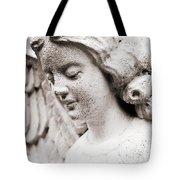 Angels Prayers And Miracles Tote Bag