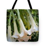 Angel's Trumpet Flower Tote Bag