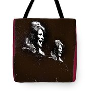 Angie Dickinson Laughing Collage Young Billy Young Set Old Tucson Arizona 1968-2013 Tote Bag