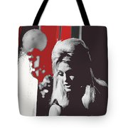 Angie Dickinson On Stage Number 2 Young Billy Young Set Old Tucson Arizona 1968-2013 Tote Bag