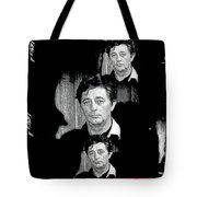 Angie Dickinson Robert Mitchum Collage Young Billy Young Set Old Tucson Arizona 1968-2013 Tote Bag