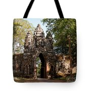Angkor Thom North Gate 02 Tote Bag