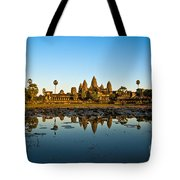 Angkor Wat At Sunset - Cambodia Tote Bag