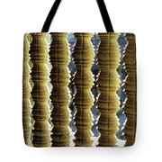 Angkor Wat Colonnettes 01 Tote Bag