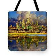 Angkor Wat Just Before Sunset Tote Bag