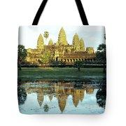Angkor Wat Reflections 01 Tote Bag
