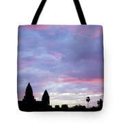 Angkor Wat Sunrise 02 Tote Bag