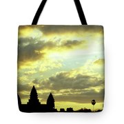 Angkor Wat Sunrise 03 Tote Bag