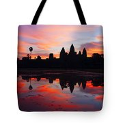 Angkor Wat Sunrise Tote Bag