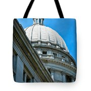 Angle On The Capitol Tote Bag